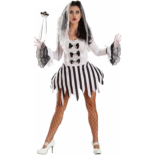 Womens Ghost Girl Costume Cosplay Halloween