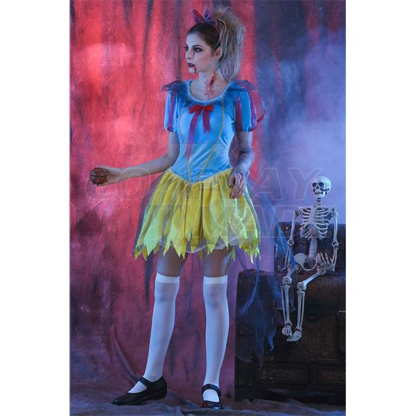 Hell Devil Snowwhite Prinsess Ghost Costume Halloween Cosplay