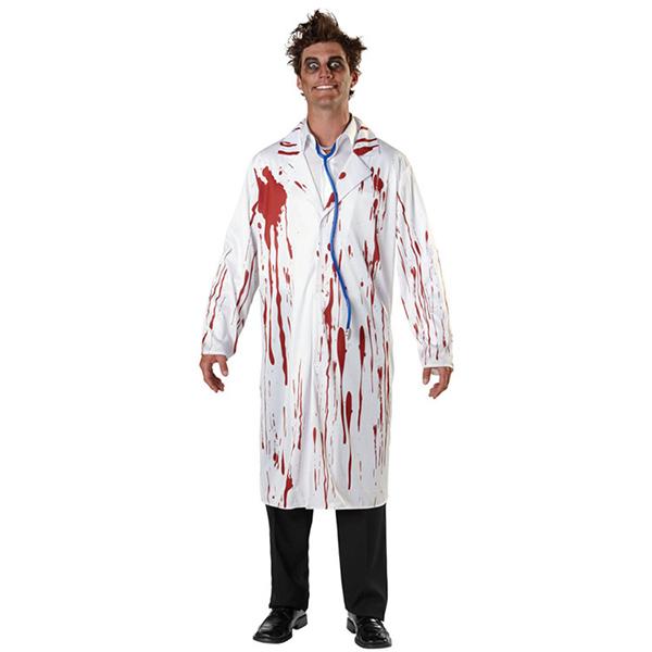 Herren Bloody Surgeon Scary Doctor Kostüme Halloween Cosplay Kostüme