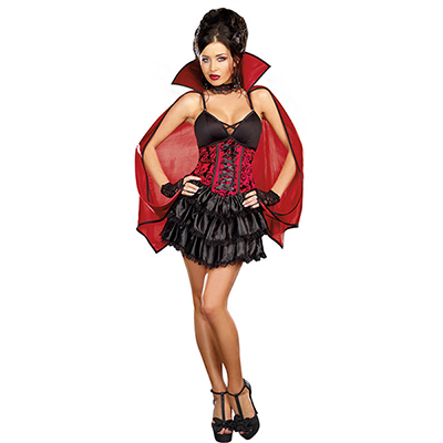 Adult Sexy Fantasia Vampire Costume Cosplay Halloween