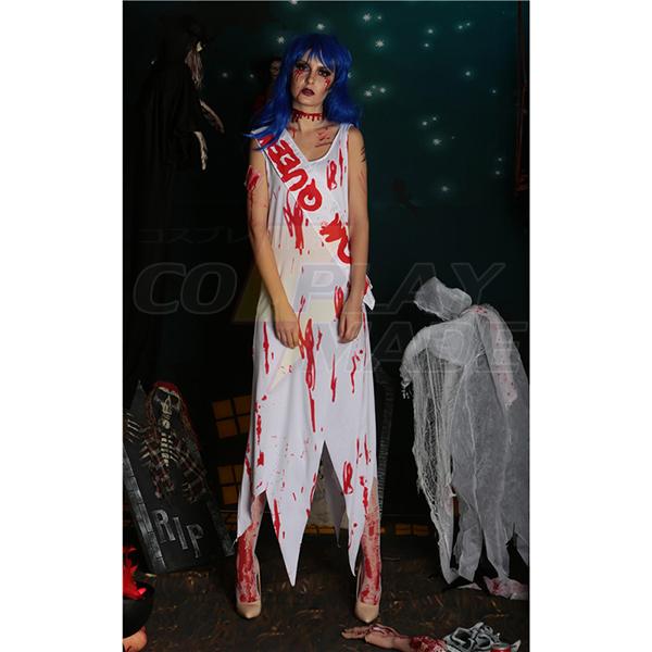 Zombie Queen of Miss World Costume Cosplay Halloween