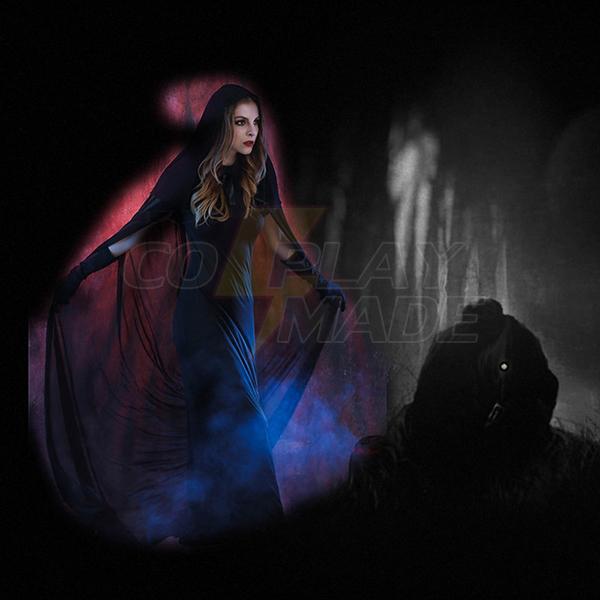 Damen Devil Vampir Faschingskostüme Cosplay Kostüme Damen Halloween Mantel