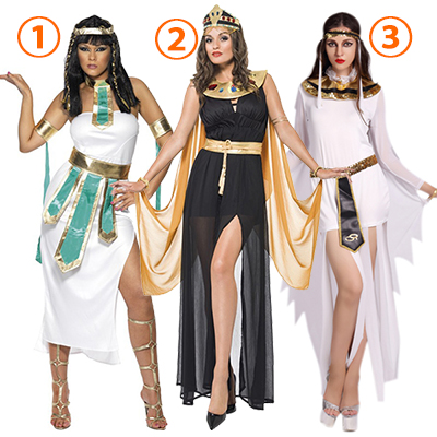 Reina of the Idioma árabes Vestidos Egyptian Reina Disfraz Cosplay Carnaval