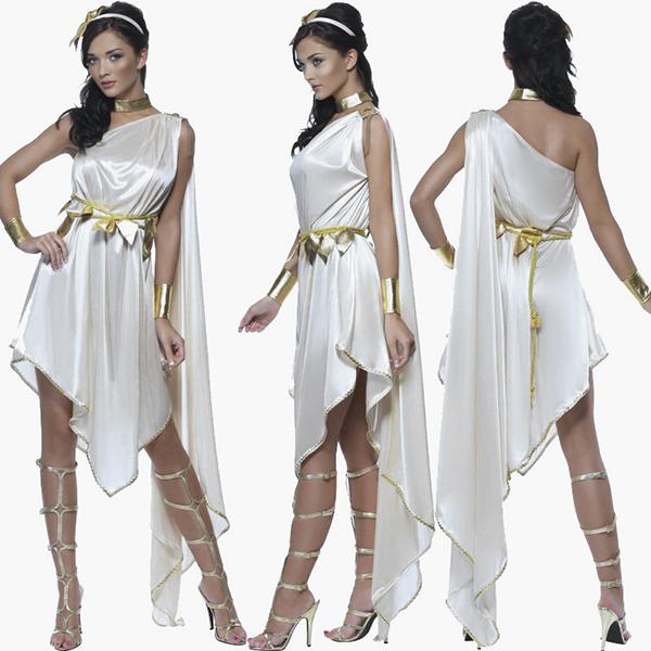 Halloween Partei Kostüme Role-playing Games Greek Goddess Prinzessin Kleider
