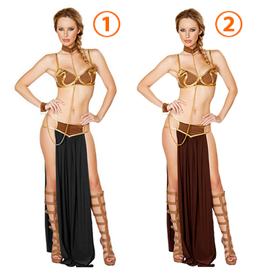 Sexy Lingerie Star Wars Princess Leia Slave Women Costume Cosplay