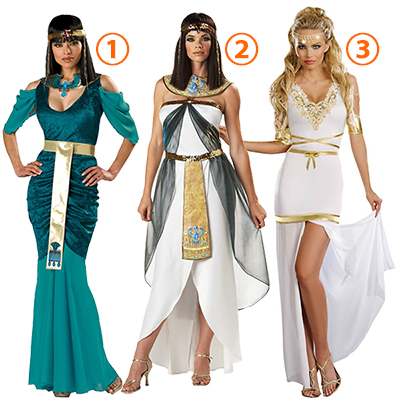 Adulto Da donna Egyptian Jewel Costumi Cosplay Halloween Carnevale