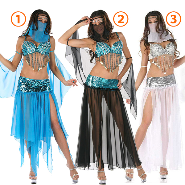 Adult Dreamy Genie Halloween Costume Cosplay