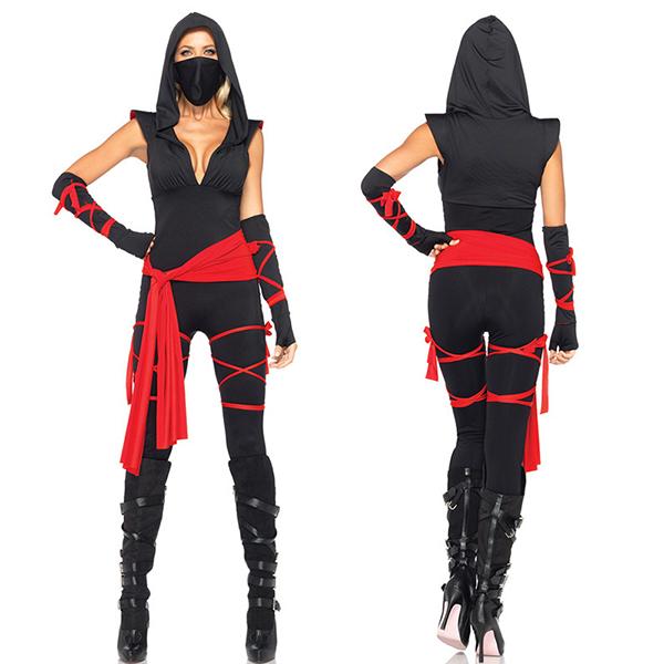 Sexy Deadly Ninja Costume Cosplay Halloween