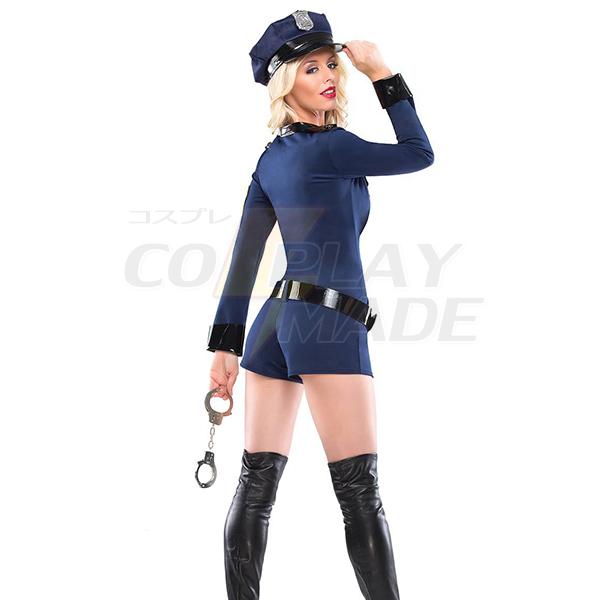Damen Sexy Polizei Cop Uniform Halloween Kostüme Cosplay Kostüme