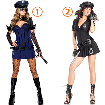 Secret Wishes Sexy Night Watch Costume Cosplay Halloween