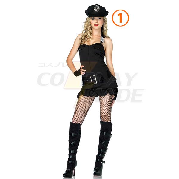 Damen Officer Patdown Cheeky Polizei Kostüme Cosplay Kostüme Halloween