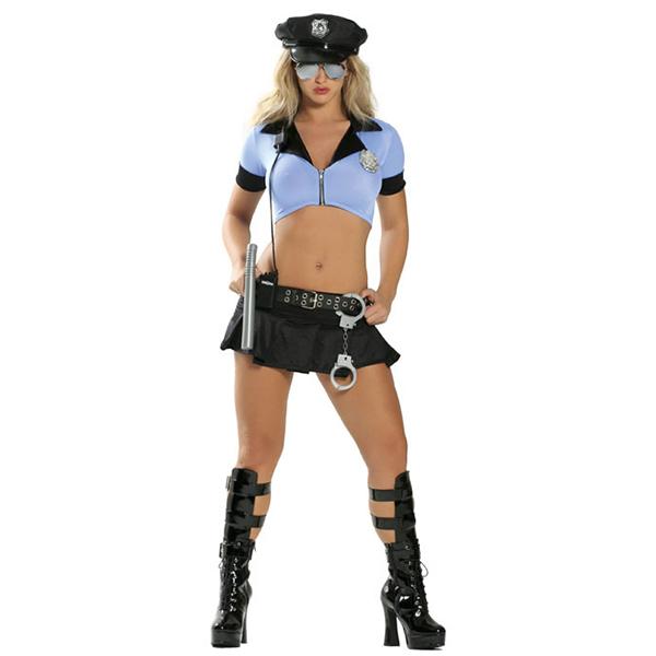 Seductive Partei Kleidung Cosplay Kostüme Cop Kostüme Cosplay Kostüme Halloween