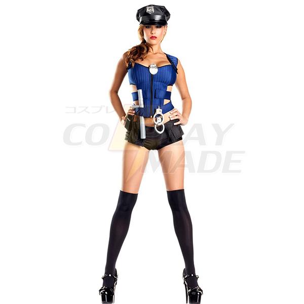 Beliebt Sexy Polizei Frau Kostüme Cosplay Kostüme Halloween