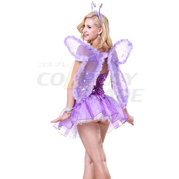 Lila Signature Butterfly Halloween Kostüme Cosplay Kostüme Halloween
