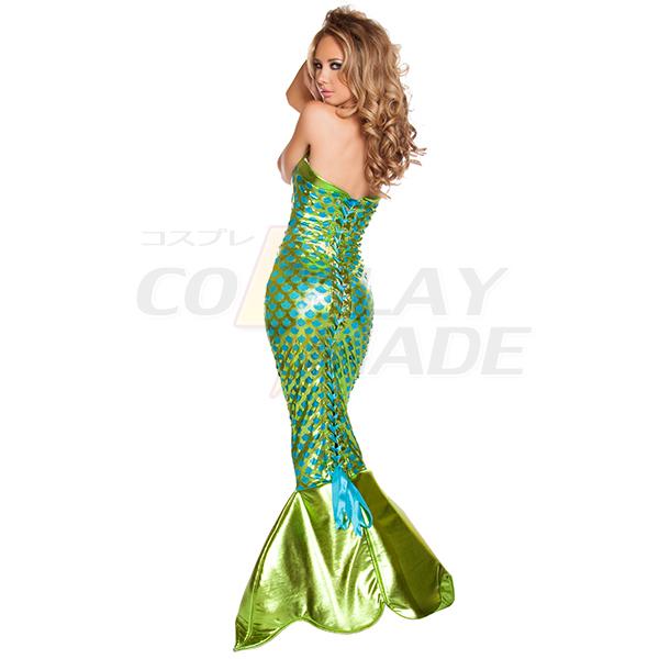 Sexy Sea Creature Mermaid Costume Coslay Halloween