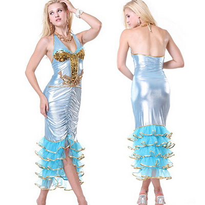 Sexy Pretty Sea Creature Costume Cosplay Halloween