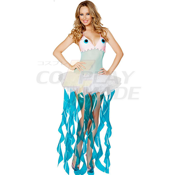 Meereslebewesen Jellyfish Kostüme Cosplay Kostüme Halloween