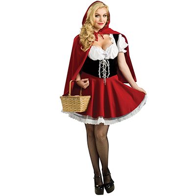 Ladies Little Red Riding Hood Halloween Costume Party Cosplay