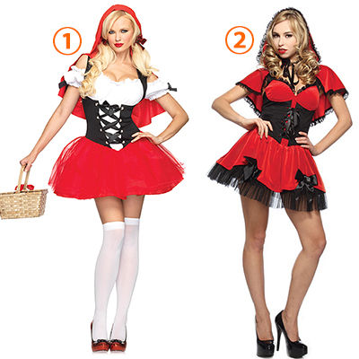 Populaire Racy Rouge Riding Hood Costume Cosplay Halloween Carnaval