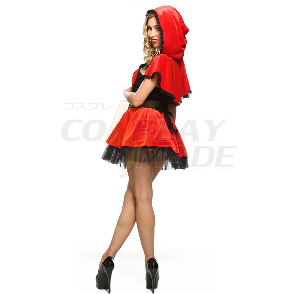 Popular Racy Red Riding Hood Costume Cosplay Halloween