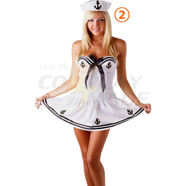 Delicious Sassy Sailor Costume Cosplay Halloween