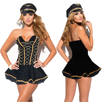 Sexy Sailor Wear Navy Feel Lingerie Bar Performance Costume Cosplay