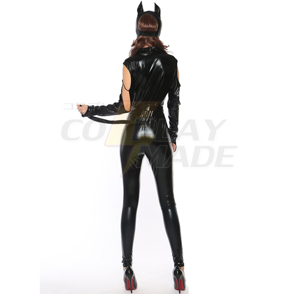 Populære Bodysuits Kat Dame Kjoler Cosplay Kostume Fastelavn