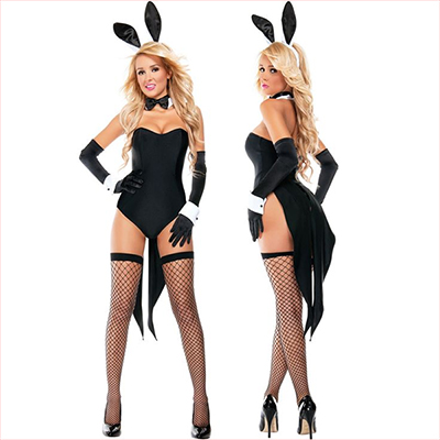 Playboy Lapin Costume Cosplay Halloween Carnaval