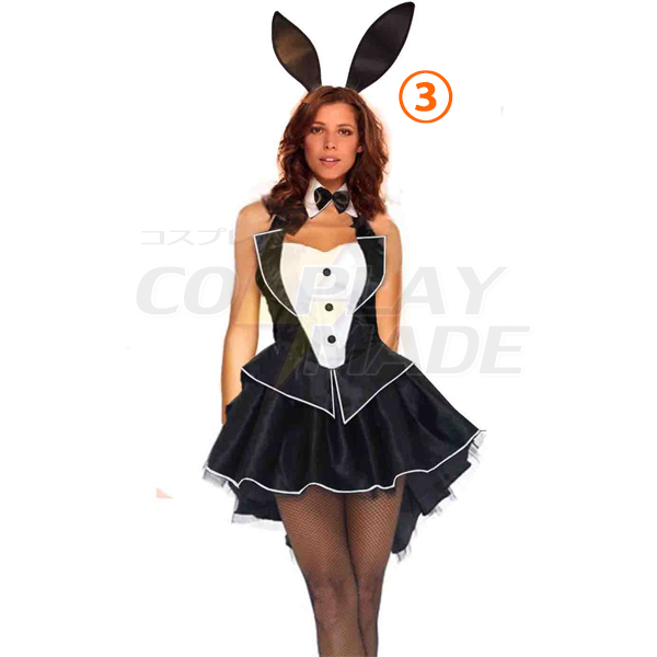 Playboy Bunny Kleider Hase Kostüme Cosplay Kostüme Halloween
