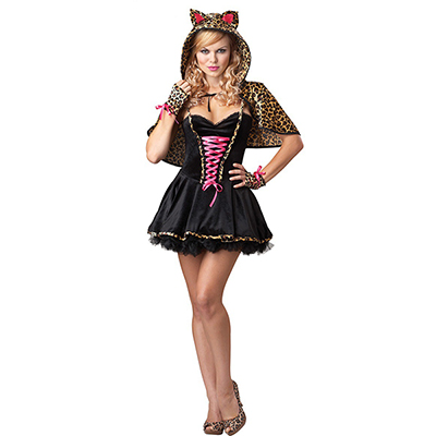 Frisky Kitty Sexy Womens Costume Cosplay Halloween