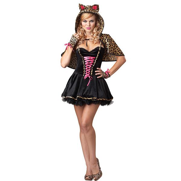 Frisky Kitty Sexy Damen Kostüme Cosplay Kostüme Halloween