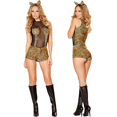 Seductive Jungle Cat Sexy Costume Cosplay Catwoman