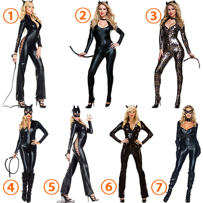 Cut Out Cheetah Costume Cosplay Halloween