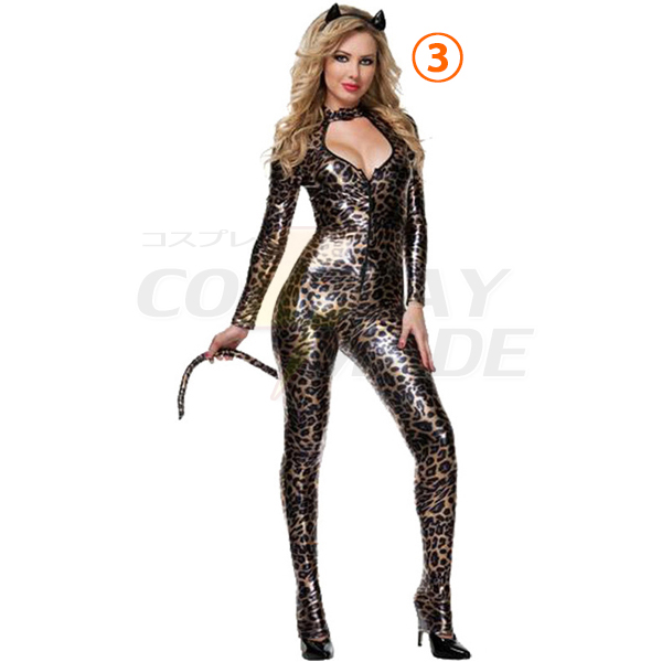 Cut Out Cheetah Kostüme Cosplay Kostüme Halloween