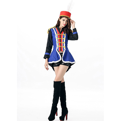 Adulte Festive Honor Guard Parade Costume Cosplay
