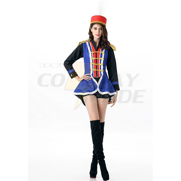 Adult Festive Honor Guard Parade Costume Cosplay