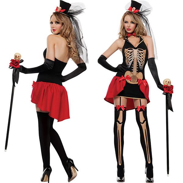 Womens Big Top Tease Burlesque Costume Cosplay