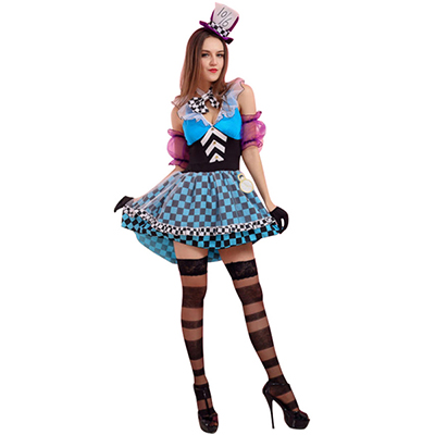 Mago Tamer Circus Attractive Woman Costume Cosplay