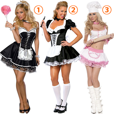 Adulte French Maid Costume Cosplay Halloween Carnaval
