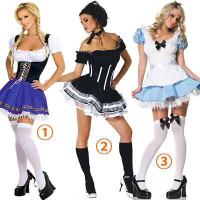 Maid Carnaval Kostuum Beer Nightclub DS Kleding Japans Uniformen Halloween