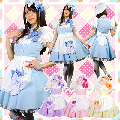 Cafe Waiter German Oktoberfest Maid Costume Maidwear Beer Cosplay