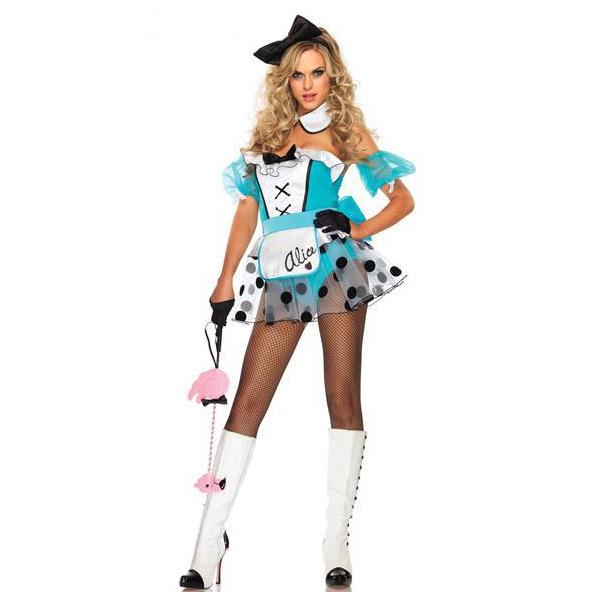 Alice in Wonderland Poker Costume Cosplay Halloween