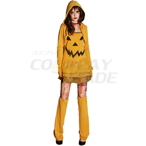 Featured Pumpkin Role Play Suit Halloween Cosplay Costume
