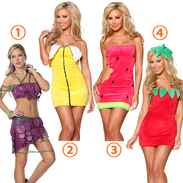 Fruit Theme Party Dressage Costume Halloween Cosplay