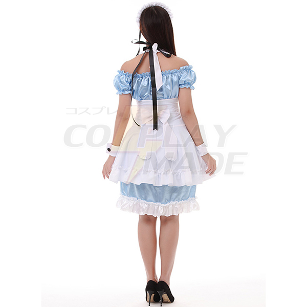 Character Actress Maid Mounted Three-color Maid Mounted Kostüme Cosplay Kostüme