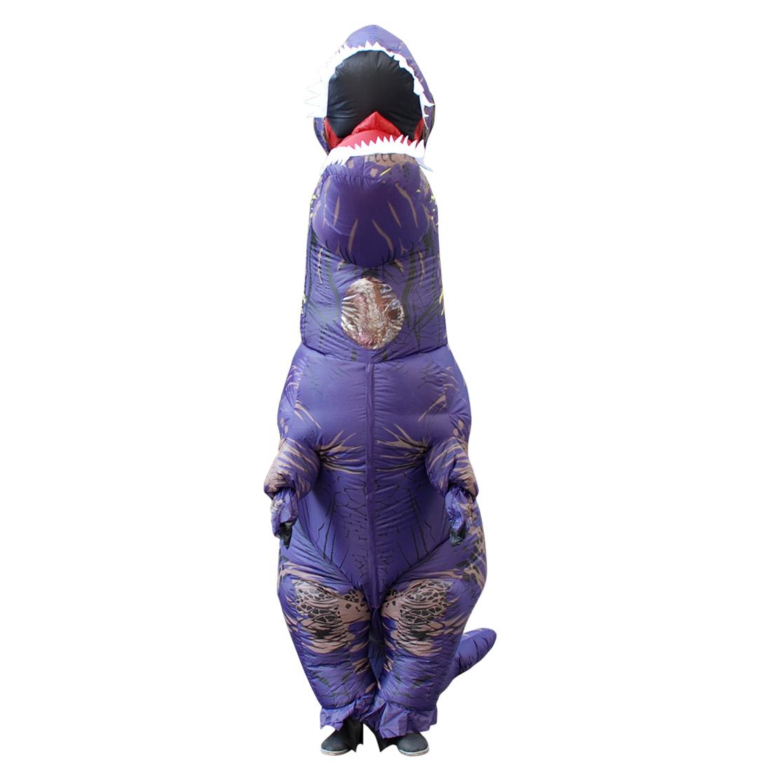 Adult Purple Dinosaur Costume 77