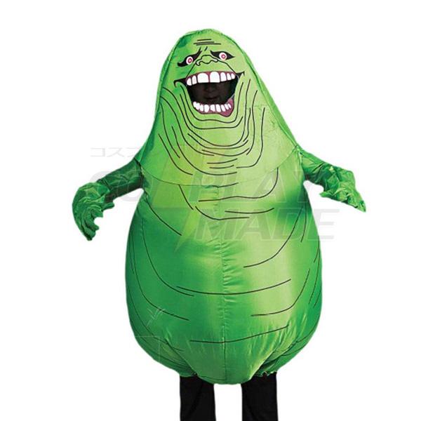 Erwachsene Aufblasbar Ghostbusters Aufblasbar Slimer Ghost Kostüm Halloween Karnevals Kostüme