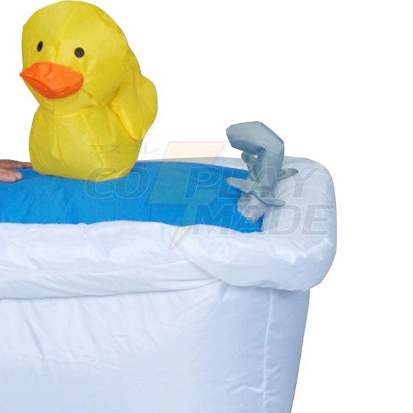 Adult Inflatable Bathtub Costume Halloween Cosplay