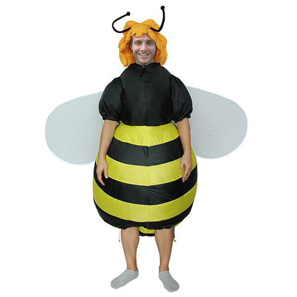 Adulte Gonflable Abeille Costume Halloween Cosplay Carnaval