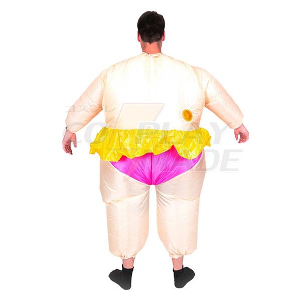 Erwachsene Aufblasbar Carry Me Ballerina Kostüm Karnevals Kostüme Kleidung